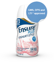 Ensure Plus Yogurt Sticker