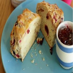 Vanilla And Raspberry Scones Recipe Page