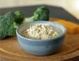 Salmon Broccoli Thumb